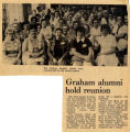 1973.2.Alumni.2. Graham alumni hold reunion