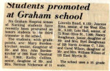1972.2.Students.1  Students promoted at Graham School
