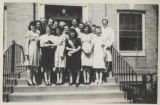 1945.1.21-34 Graham Hospital School of Nursing students