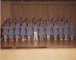 1981.5.2 Graham Hospital School of Nursing capping ceremony Class of 1981.