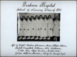 1935.4.2 Graham Hospital Training School for Nurses 1935 graduation picture