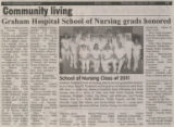 2011.2.Graduation.2 Graham Hospital School of Nursing grads honored