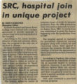 1984.2.Curriculum.1 SRC, hospital join in unique project