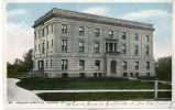1910.9.1 Graham Hospital Building Postcard