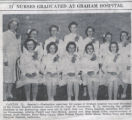 1942.2.Graduation.1 11 nurses graduate at Graham Hospital