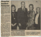 1985.2.Staff.1 Hospital leaders honored