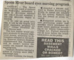 1991.2.SRC.1 Spoon River board eyes nursing program