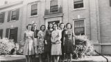 1946.1.6 Graham Hospital School of Nursing students