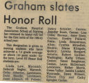1980.2.Honors.1 Graham slates honor roll