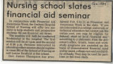 1984.2.Financial Aid.1 Nursing School States Financial Aid Seminar