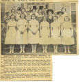 1943.2.Graduation.1 Graduating nurses from Graham Hospital at Canton