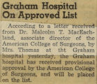 194-.2.GH.41 Graham hospital on approved list