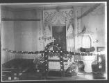German Lutheran Church Inside at Easter 1910