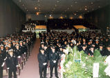 Interior of Jeffrey Bergstrom Memorial Service