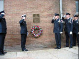 Barney Weiler Plaque and Wreath Ceremony