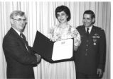 Lt. Colonel and Mrs. Jerome G. Welkom- Legion of Merit