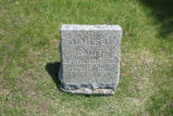 James M. Raben Grave Marker