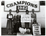 Junior Grand Champion, Chicken Meat Trio, 1982