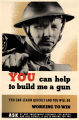 You can help build me a gun: you can learn quickly and you will be working to win: ask at any...