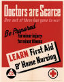 Doctors are scarce, one out of three has gone to war: be prepared for minor injury, for minor...