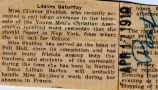 Sheldon, Eleanor -- News Clipping