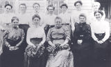 Photo of a group of twelve women.