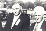 Photo of Lewis Rosenwinkle and Henry Giles.