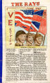 The Rays, VE Edition, June 1945.  #96.1.60