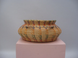 Seminole coiled basket (c. 1970)