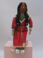 Blackfoot deerskin doll (C. 1910)