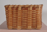 Cherokee rectangular minature basket (20th C)