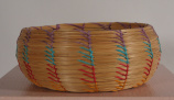 Seminole Pine needle basket (20th C)