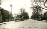 Busse Avenue looking east, c1940
