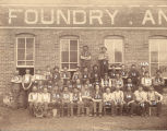 J. H. Harris Foundry & Machine Shop - Workers