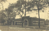 Pumping Station - Postcard, front