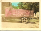 Arlington Club Delivery Truck Colorized Postcard