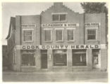 Cook County Herald Building on Davis Street