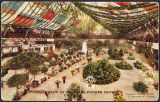 Interior view of Coliseum (Flower Show) Chicago