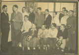 1950 ECC Basketball Players Receive Awards