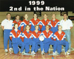 1999 Women's Volleyball Team is ranked second in the nation.
