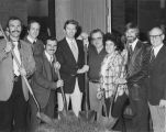 1977 Groundbreaking for Advanced Technology Center