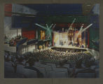 Architect's Rendering of Visual & Performing Arts Center