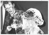 Scott Erwin ice sculpting