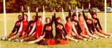 Cheerleaders, Lake Forest Academy, 1983