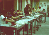 Art Class, Ferry Hall, early 1970s