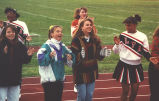 Cheerleaders, Lake Forest Academy, 1992