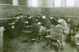 Boys Studying in a Humanities Class, Lake Forest Academy, circa 1908