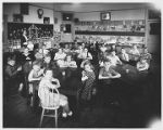 Group Classroom Picture of Seated Students Circa 1930s - Version 2