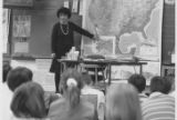 Greenbriar Elementary School Fourth Grade Weather Forecaster Visit 1992