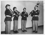 Northbrook Elementary-Level Concert Band Clarinet Quartet 1961